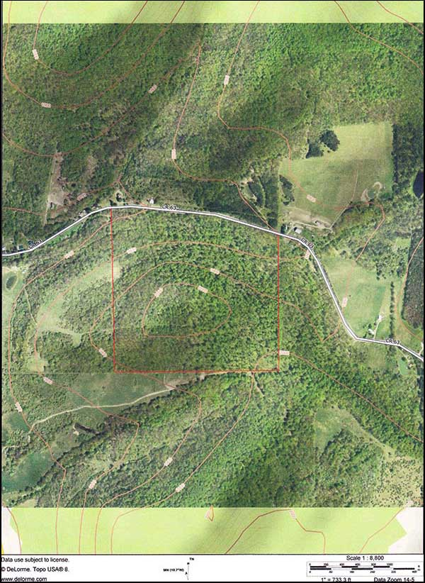 NY State Hunting Leases Land Lease - Hunting aerial maps